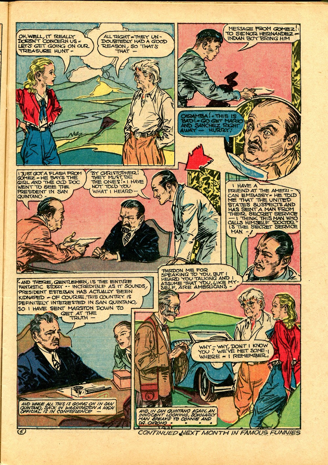 Read online Famous Funnies comic -  Issue #102 - 23