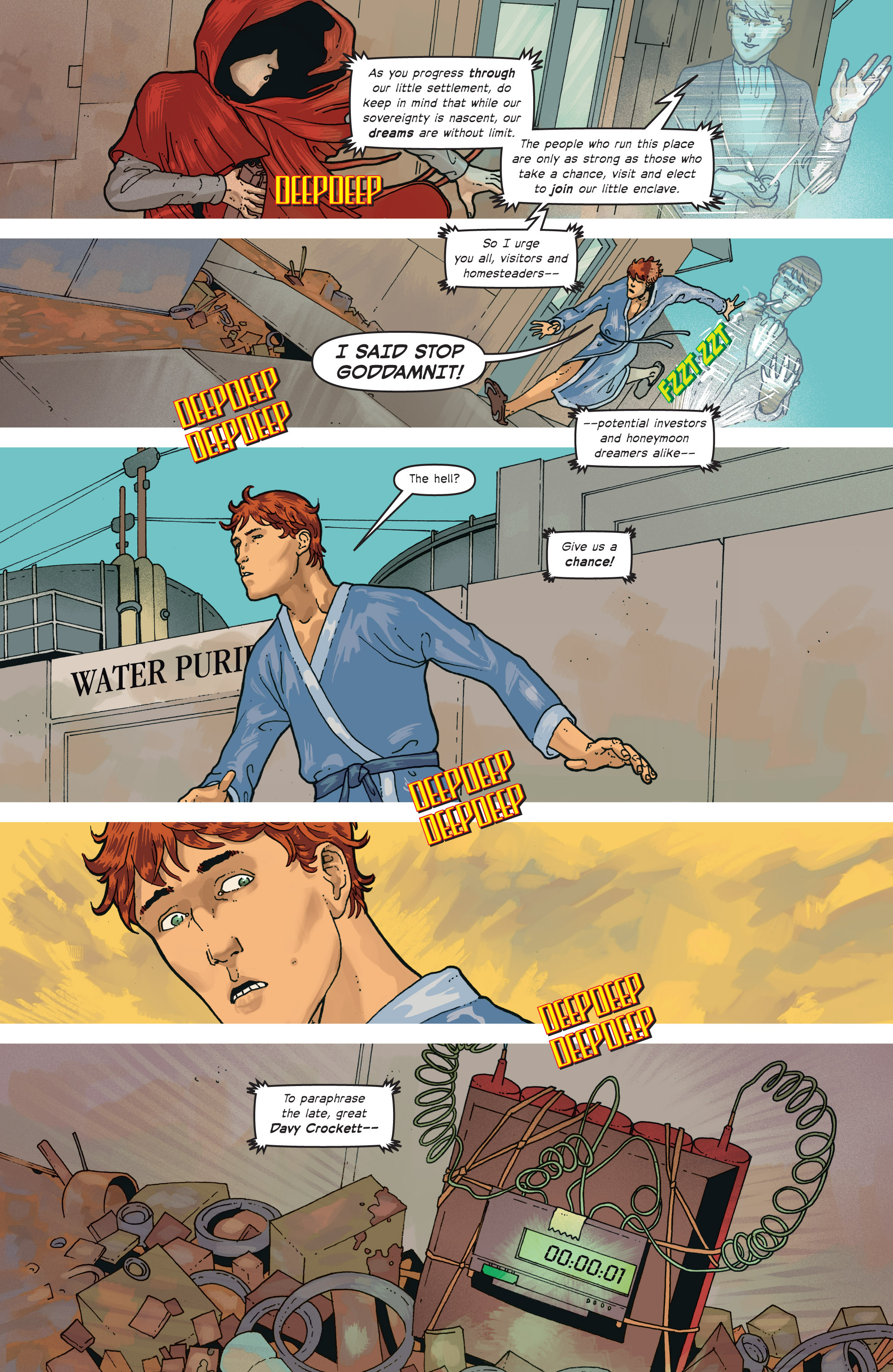 Read online Great Pacific comic -  Issue #7 - 10