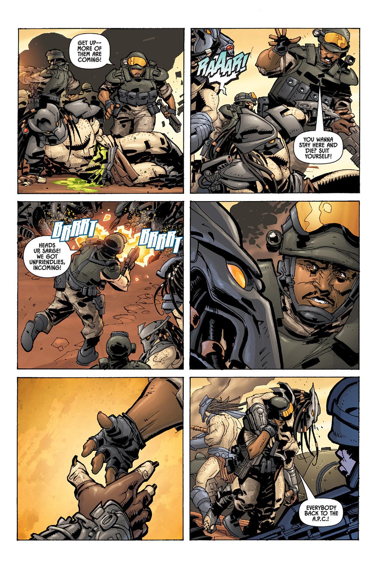 Read online Aliens vs. Predator: Three World War comic -  Issue #4 - 11
