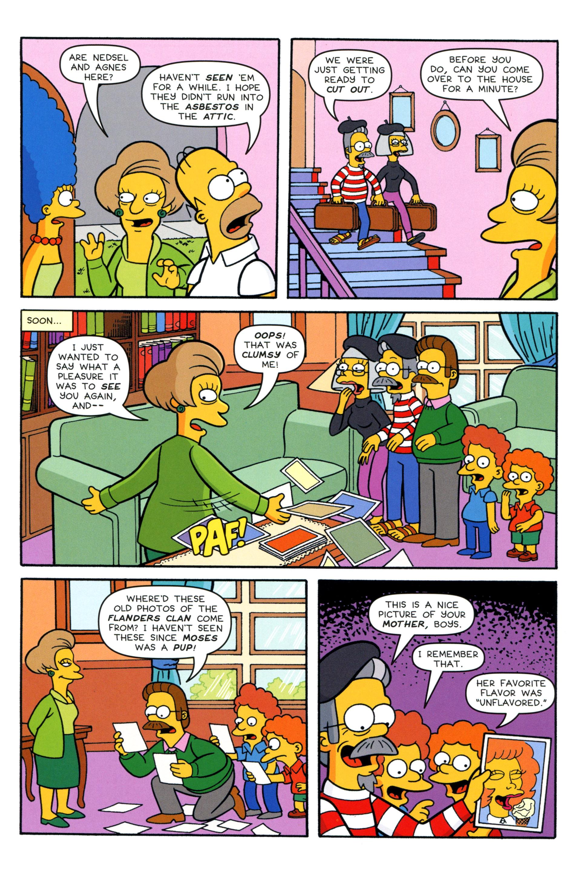 Read online Simpsons Comics comic -  Issue #204 - 22