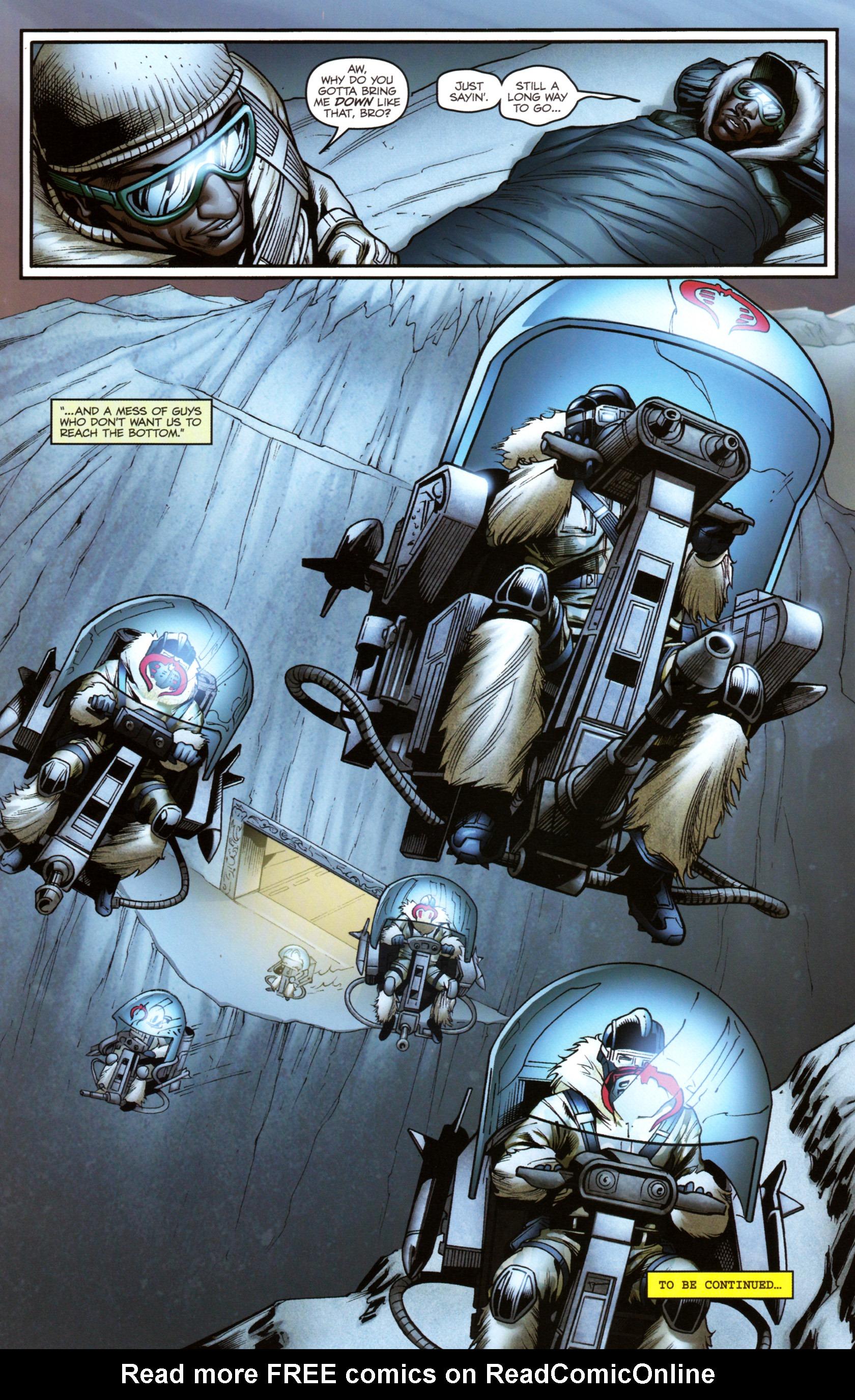 Read online G.I. Joe: Snake Eyes comic -  Issue #3 - 25