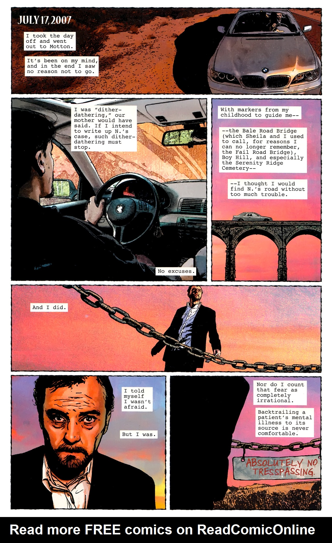 Read online Stephen King's N. comic -  Issue #3 - 6