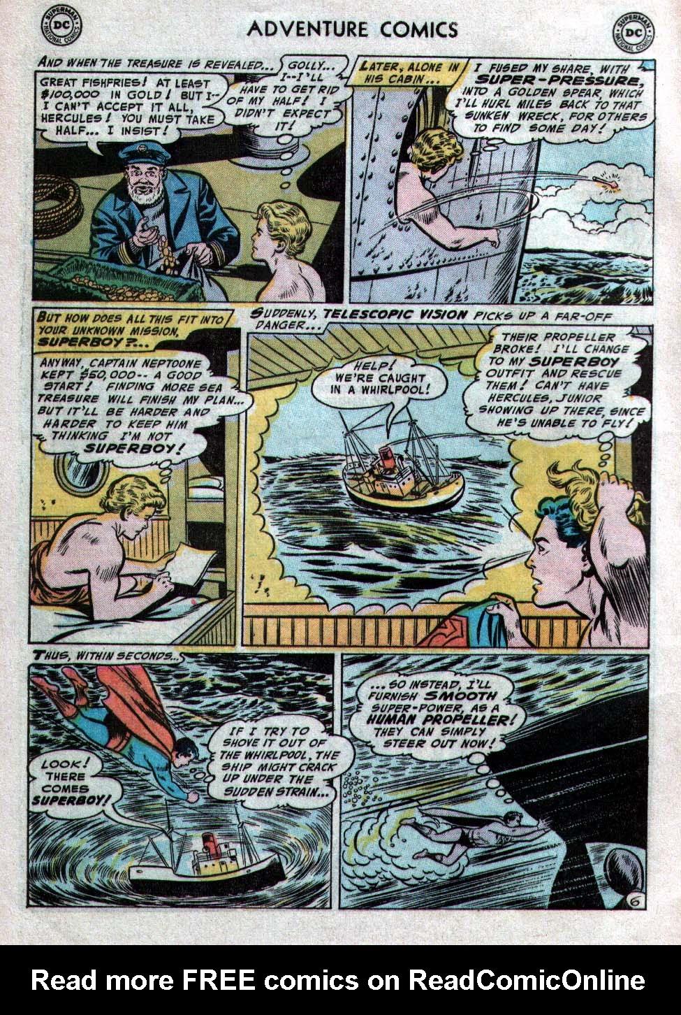 Read online Adventure Comics (1938) comic -  Issue #223 - 8
