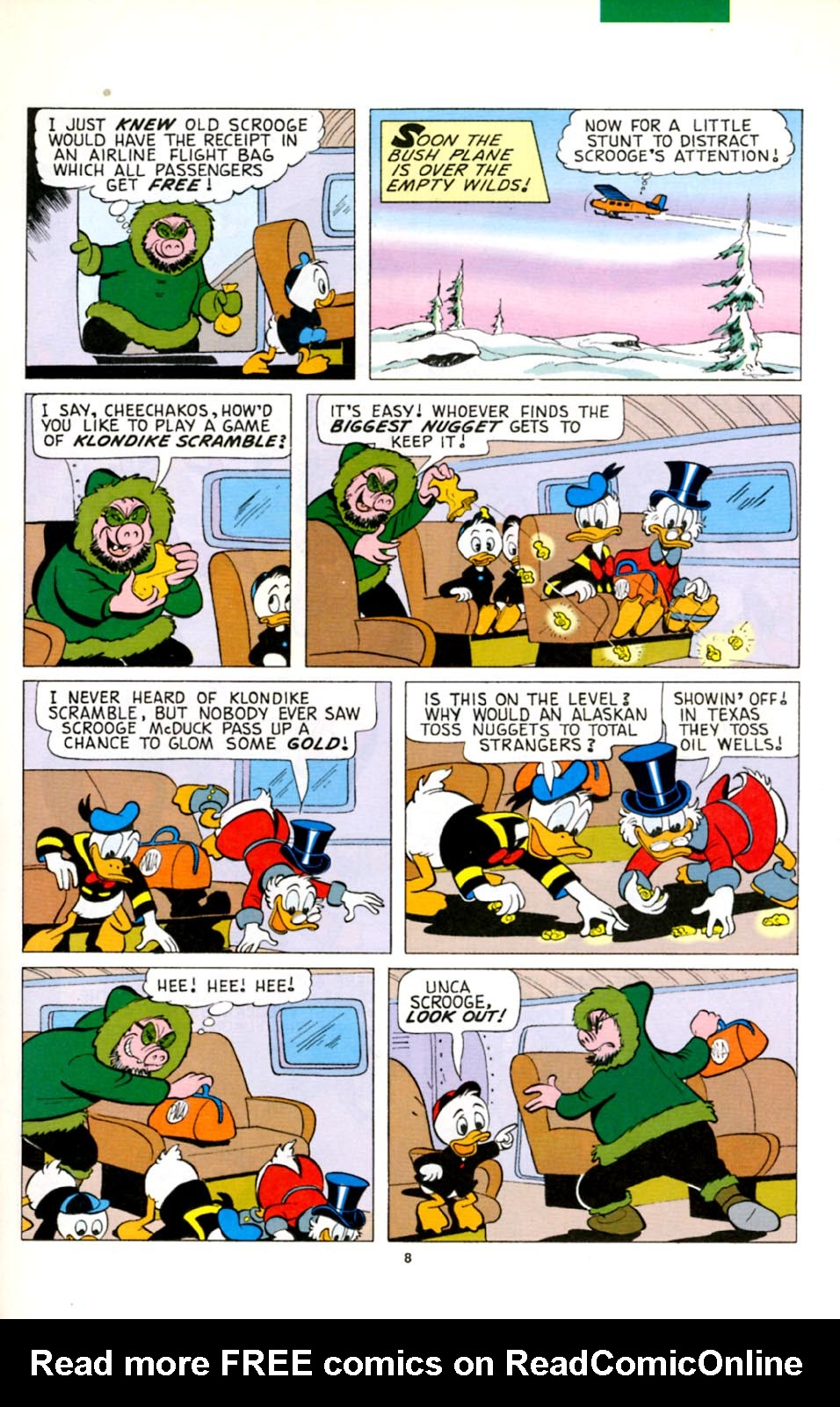 Read online Uncle Scrooge (1953) comic -  Issue #278 - 9