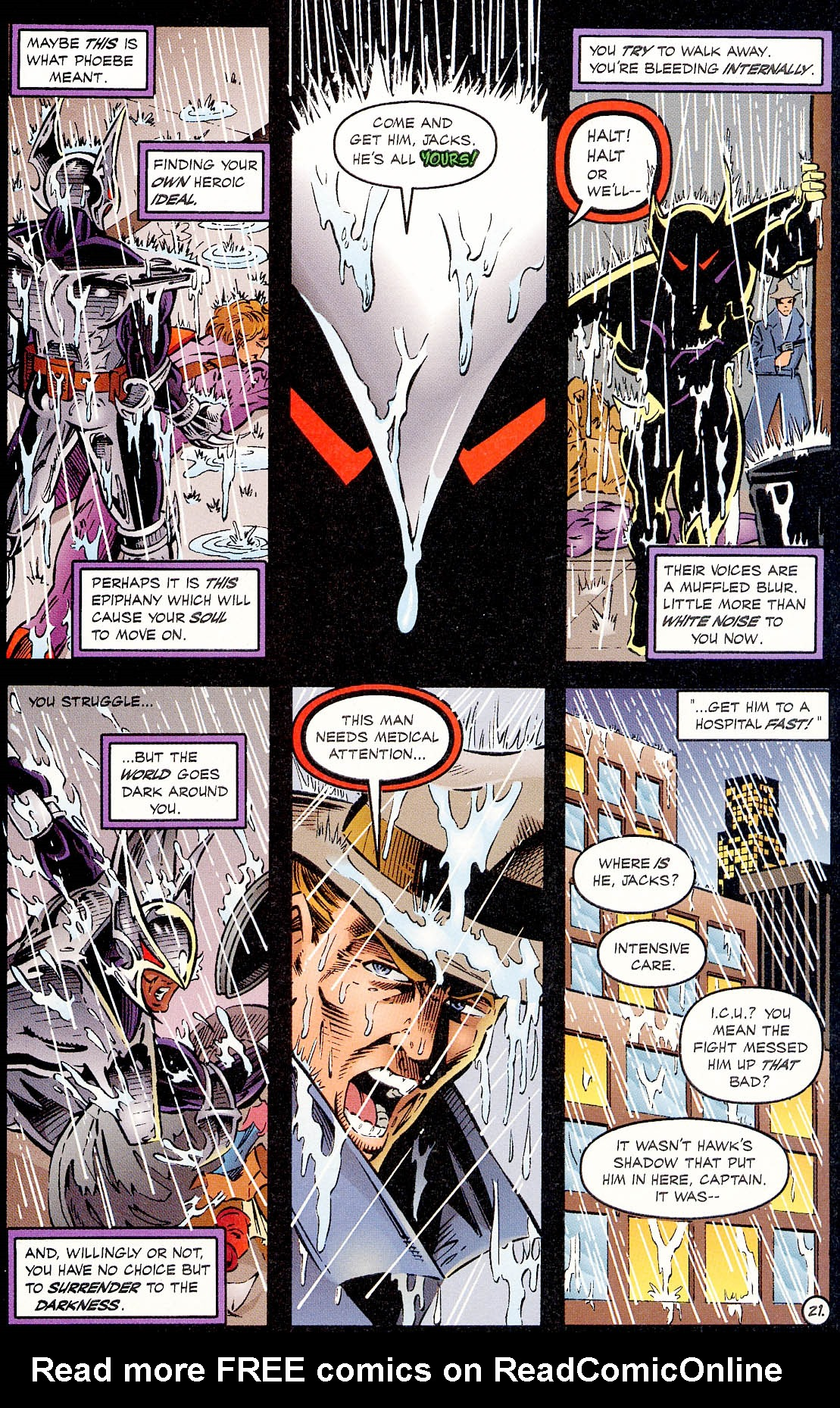 Read online ShadowHawk comic -  Issue #18 - 21