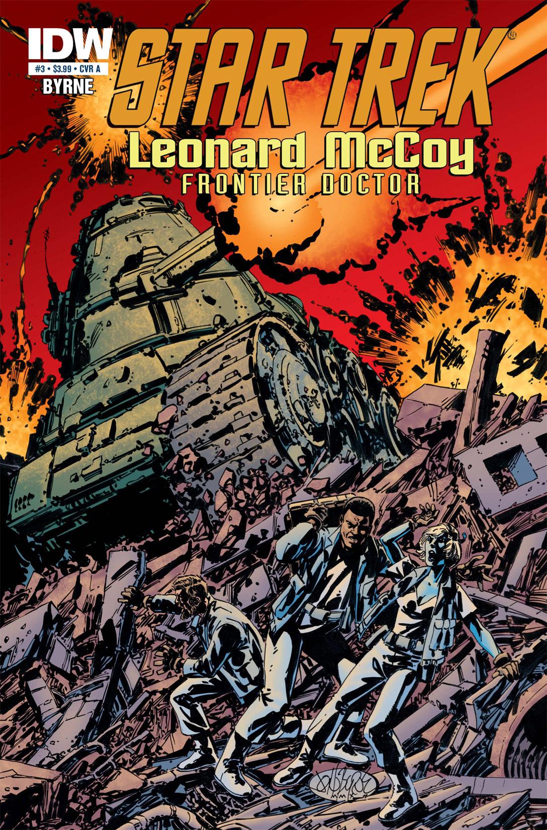 Read online Star Trek: Leonard McCoy, Frontier Doctor comic -  Issue #3 - 1