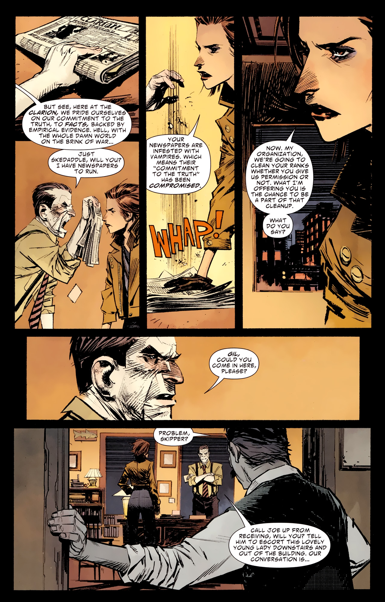 Read online American Vampire: Survival of the Fittest comic -  Issue #1 - 5