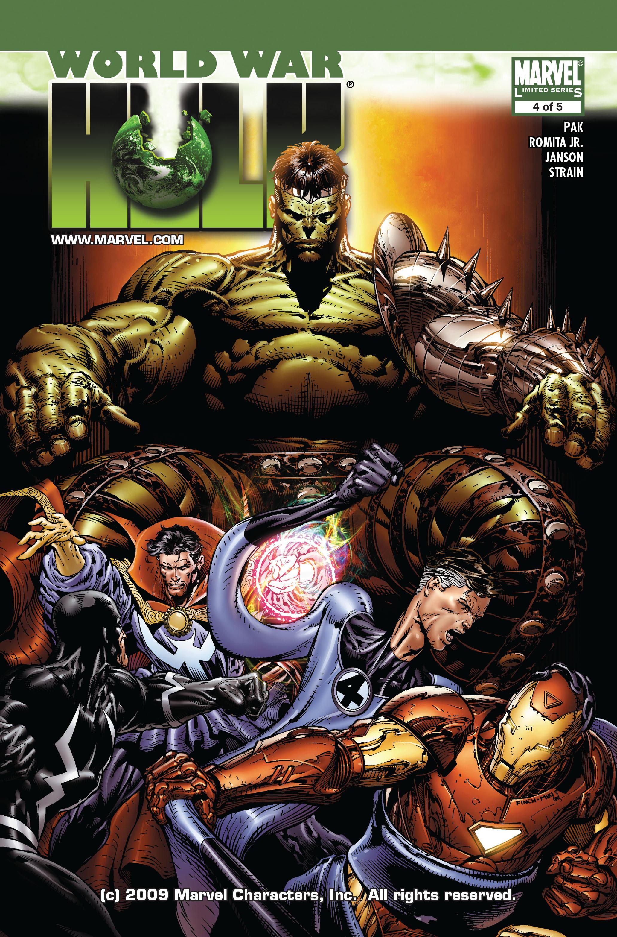 World War Hulk issue 4 - Page 1