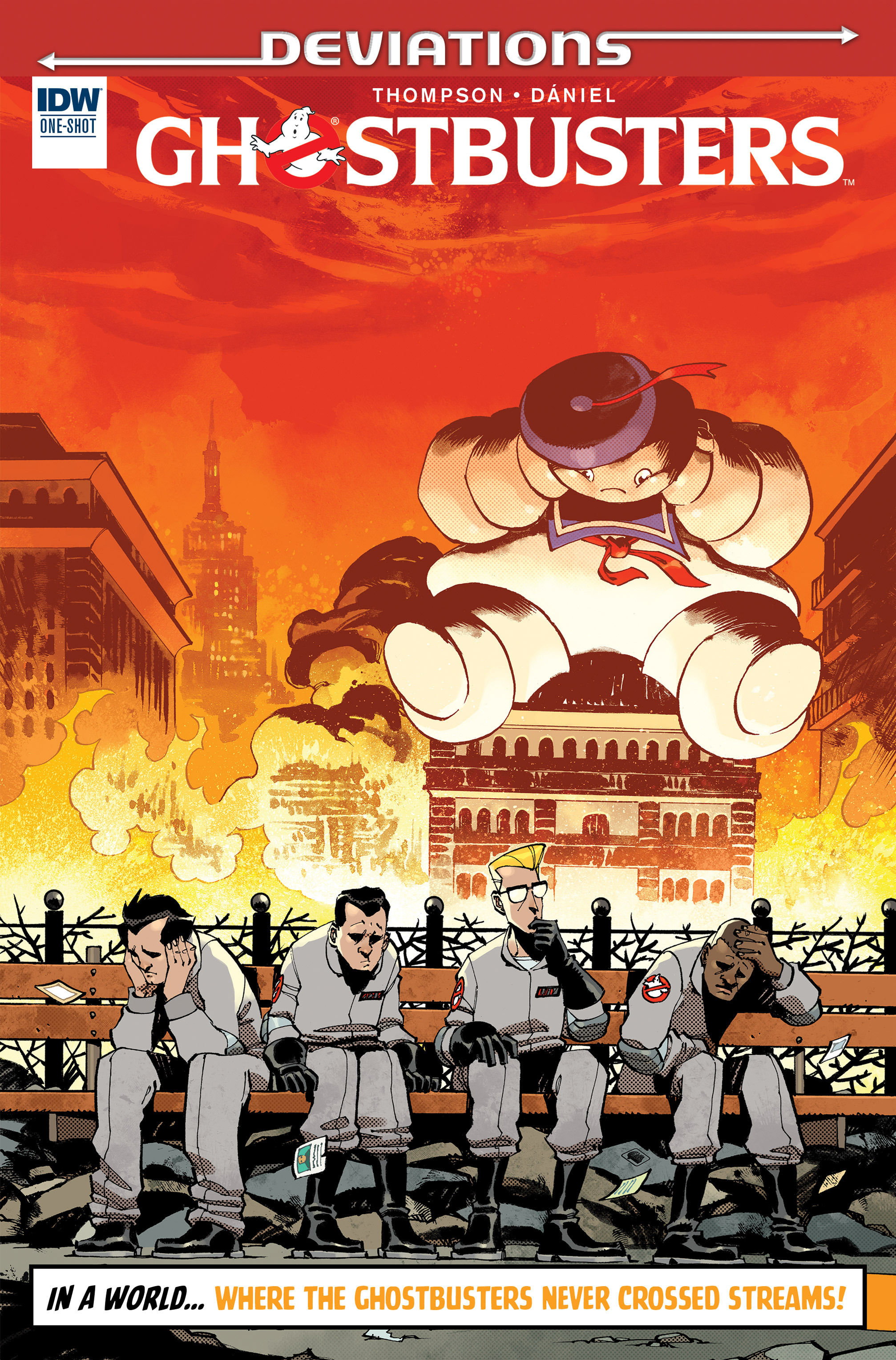 Read online Ghostbusters: Deviations comic -  Issue #1 - 1