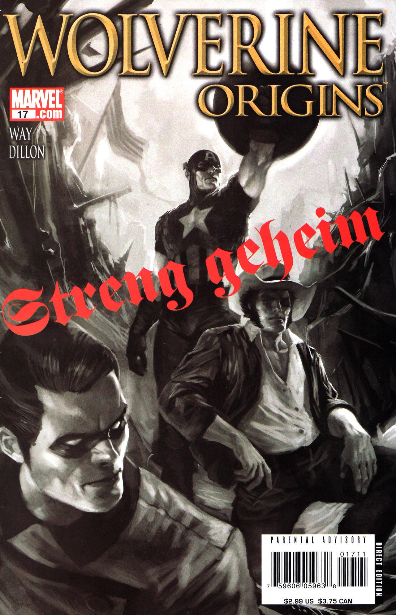 Read online Wolverine: Origins comic -  Issue #17 - 1