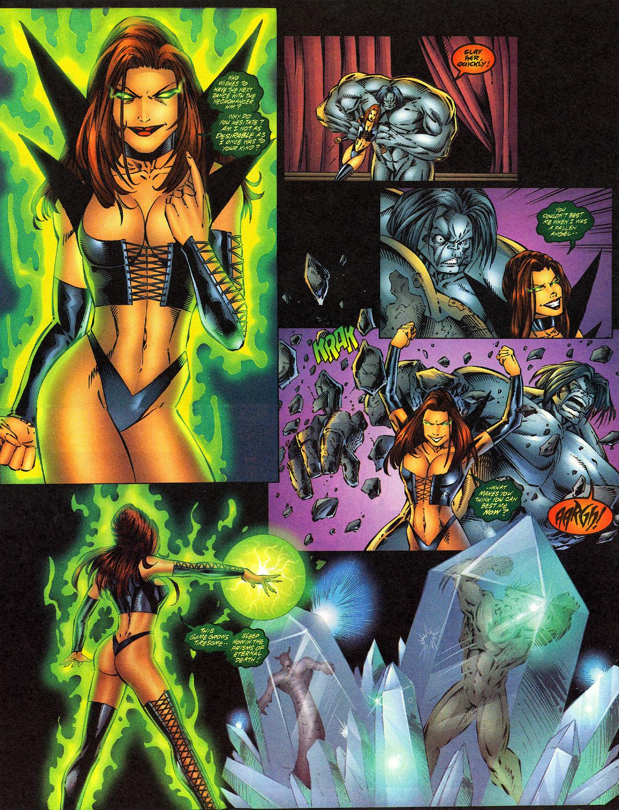 Read online Avengelyne (1996) comic -  Issue #12 - 14