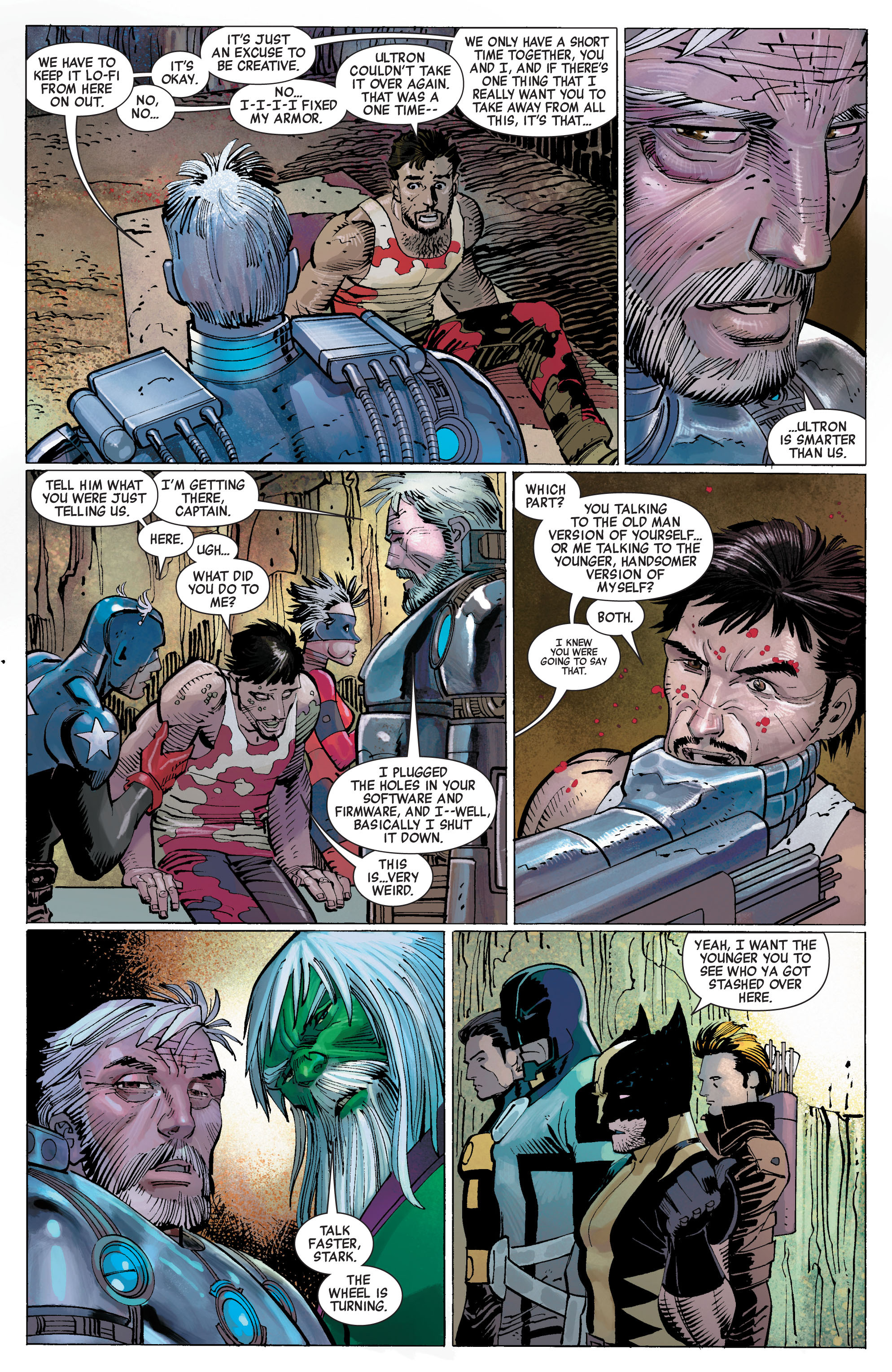 Read online Avengers (2010) comic -  Issue #5 - 7
