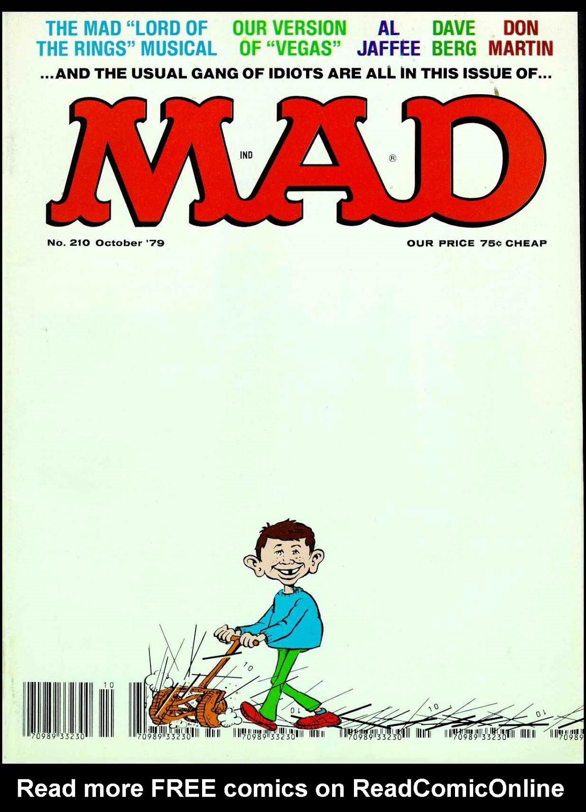 MAD issue 210 - Page 1