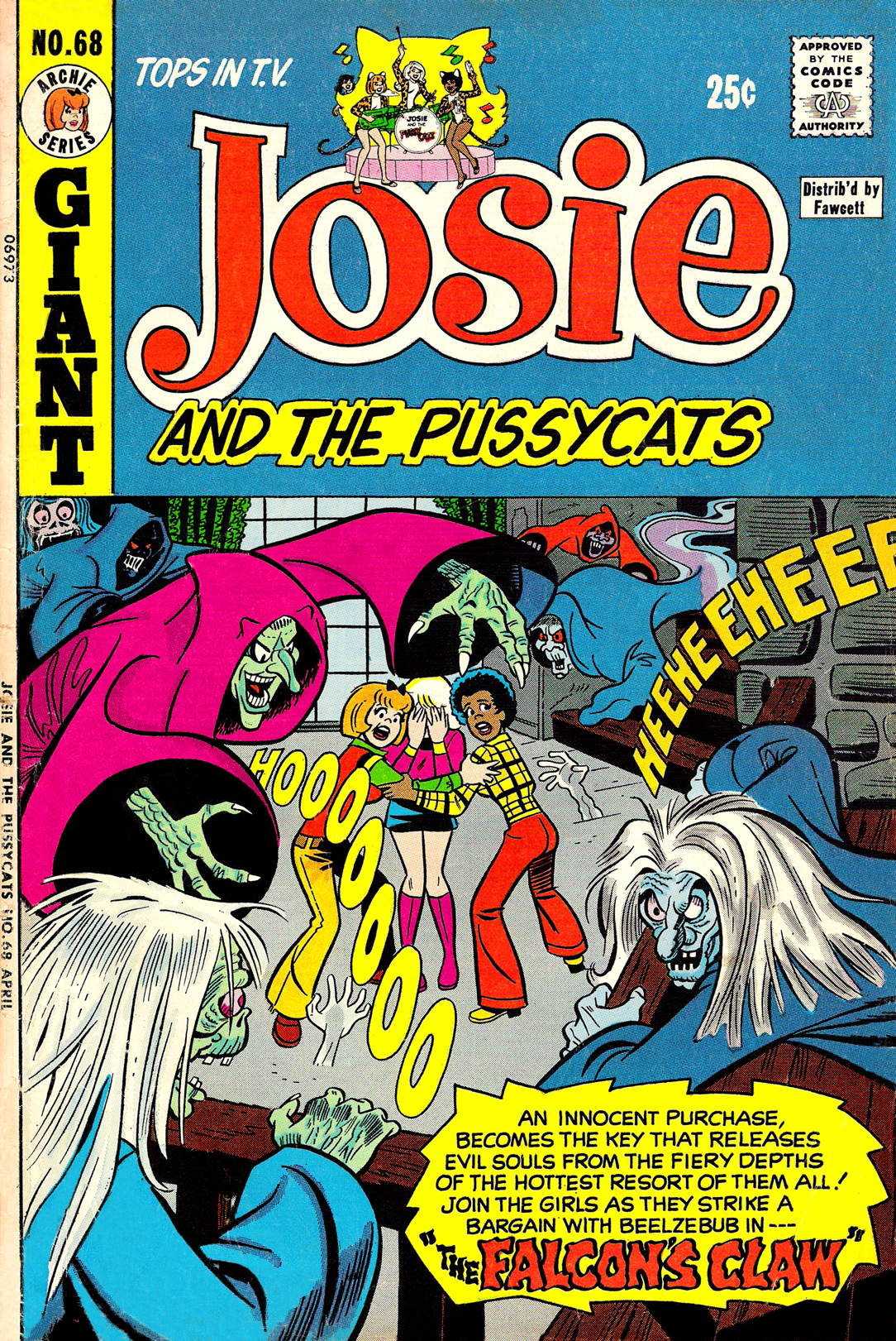 Read online She's Josie comic -  Issue #68 - 1