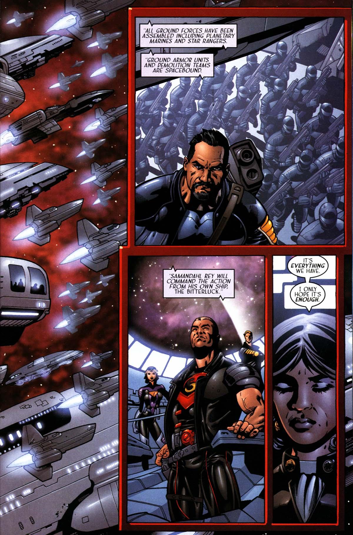 Read online Sigil (2000) comic -  Issue #24 - 27