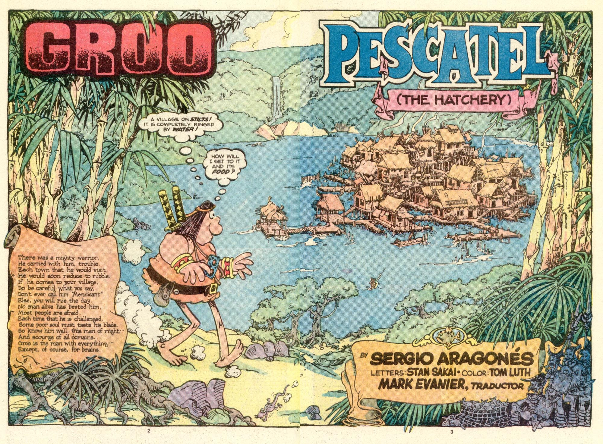 Read online Sergio Aragonés Groo the Wanderer comic -  Issue #17 - 3