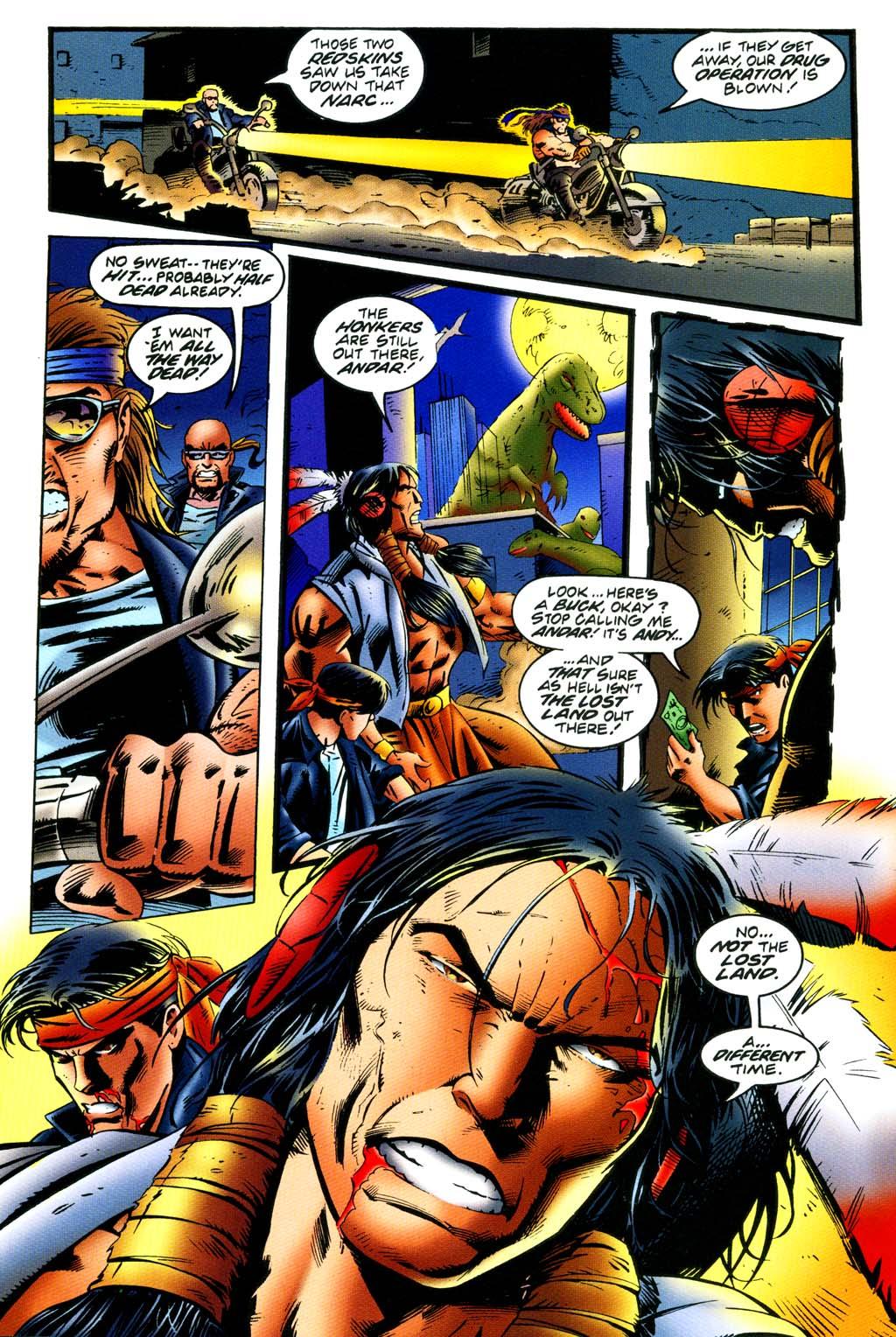 Read online Turok, Dinosaur Hunter (1993) comic -  Issue #44 - 2
