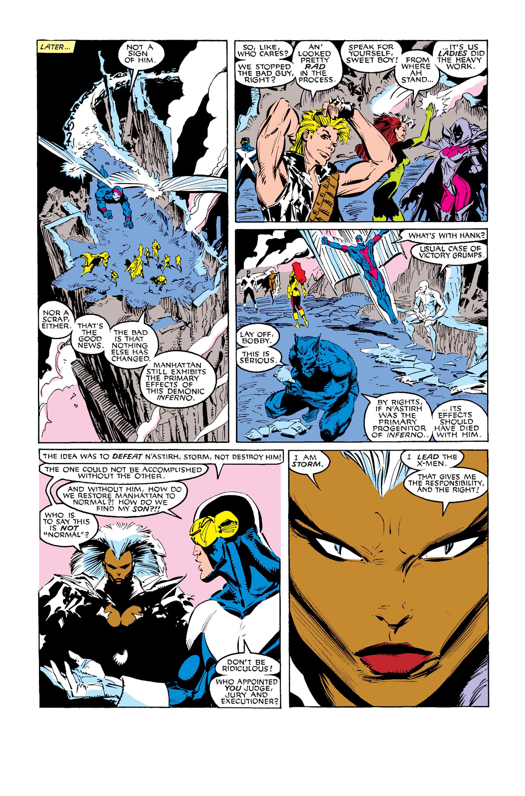 Read online Uncanny X-Men (1963) comic -  Issue #242 - 38