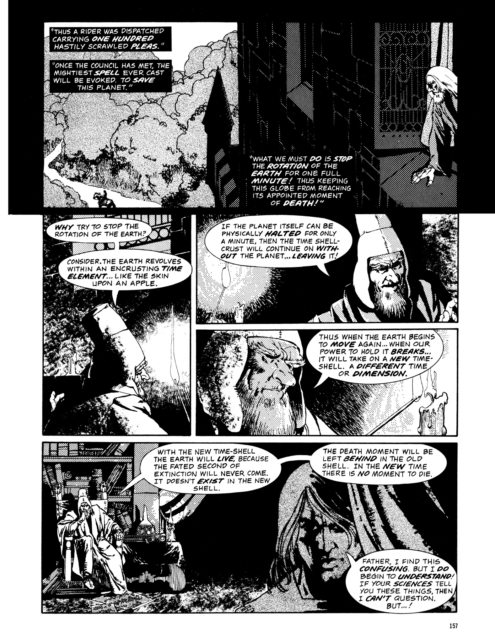 Read online Eerie Archives comic -  Issue # TPB 14 - 158
