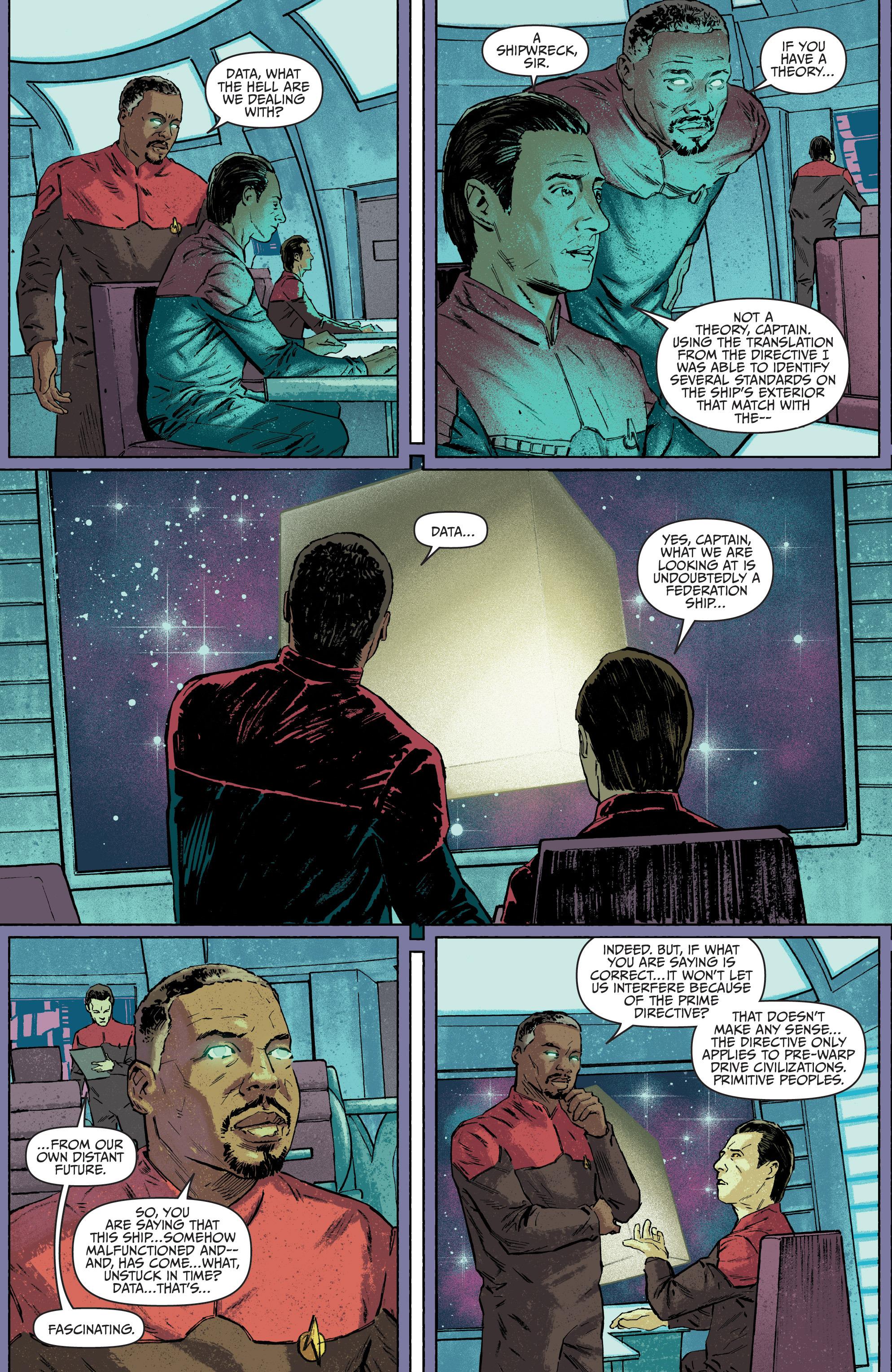 Read online Star Trek: Deviations comic -  Issue # Full - 48