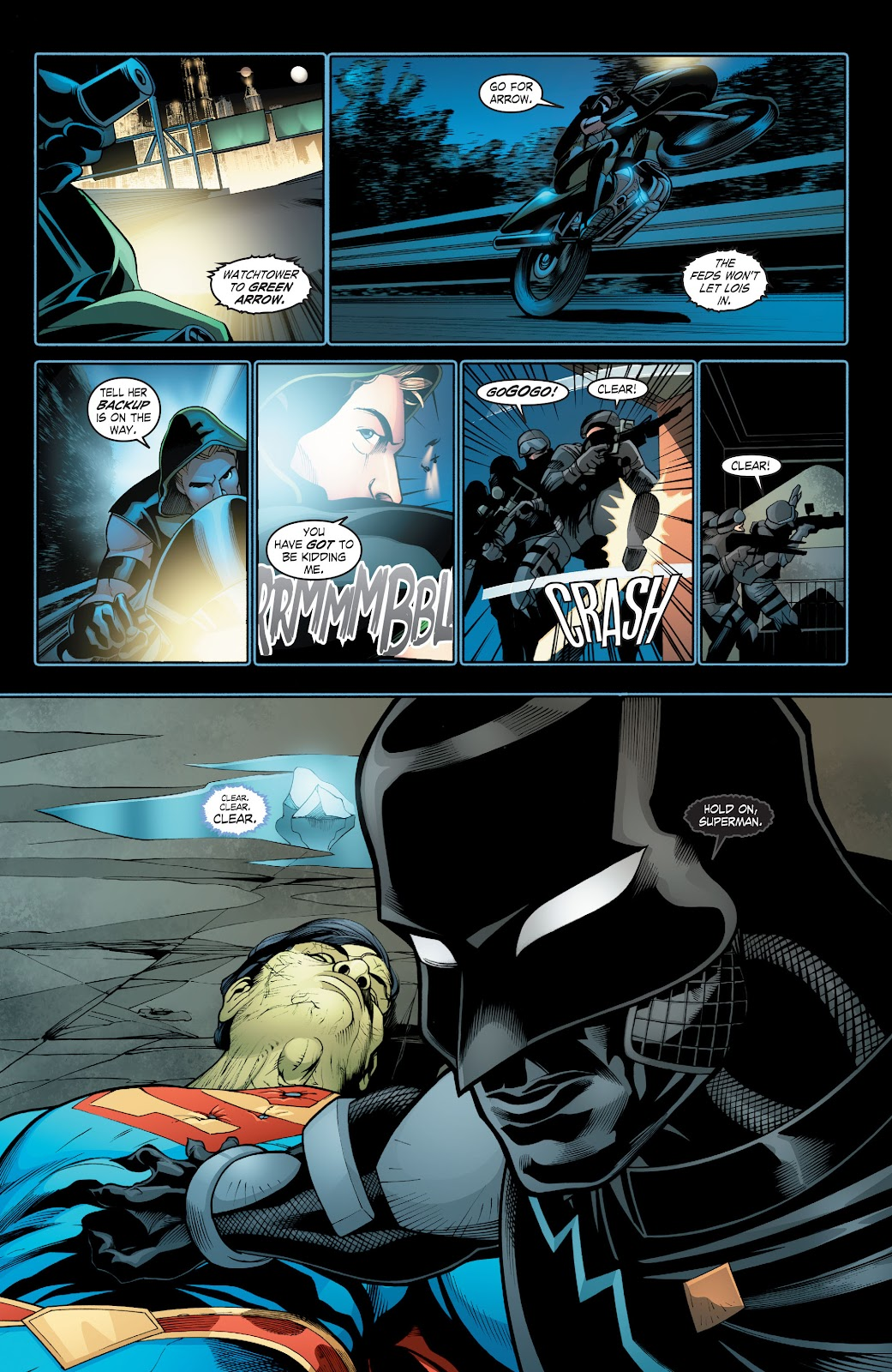 Read online Smallville Season 11 [II] comic -  Issue # TPB 2 - 87