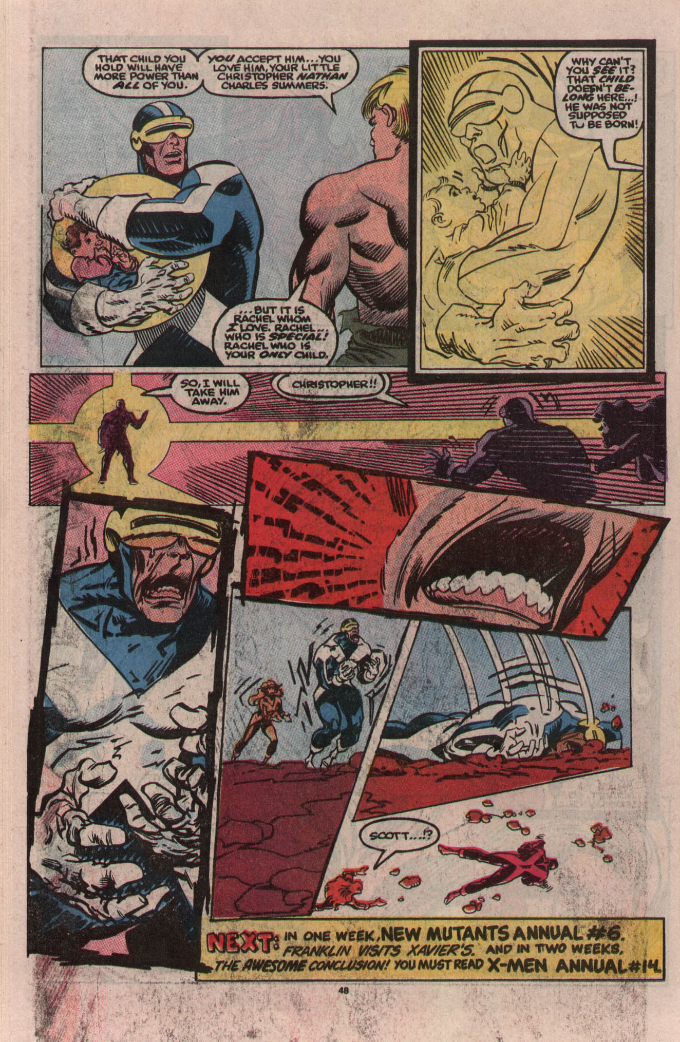 Read online X-Factor (1986) comic -  Issue # _ Annual 5 - 42