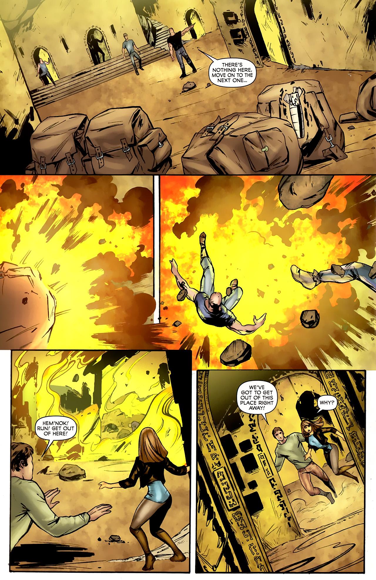 Read online Stargate: Daniel Jackson comic -  Issue #4 - 16