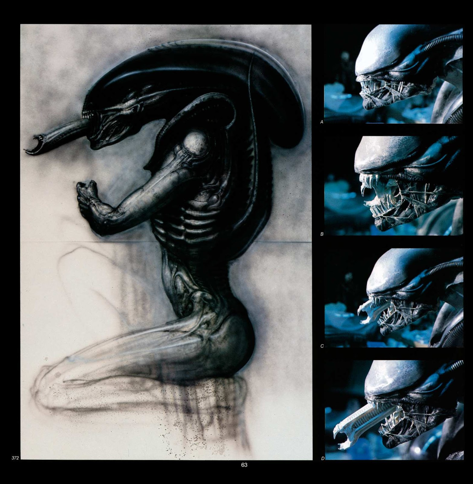 Read online Giger's Alien comic -  Issue # TPB - 65