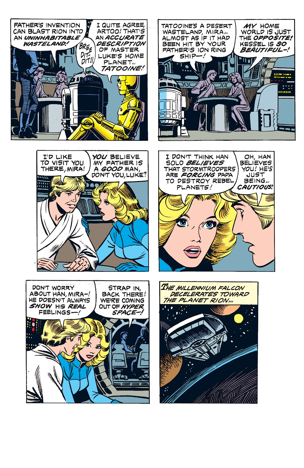 Read online Star Wars Legends: The Newspaper Strips - Epic Collection comic -  Issue # TPB (Part 2) - 83