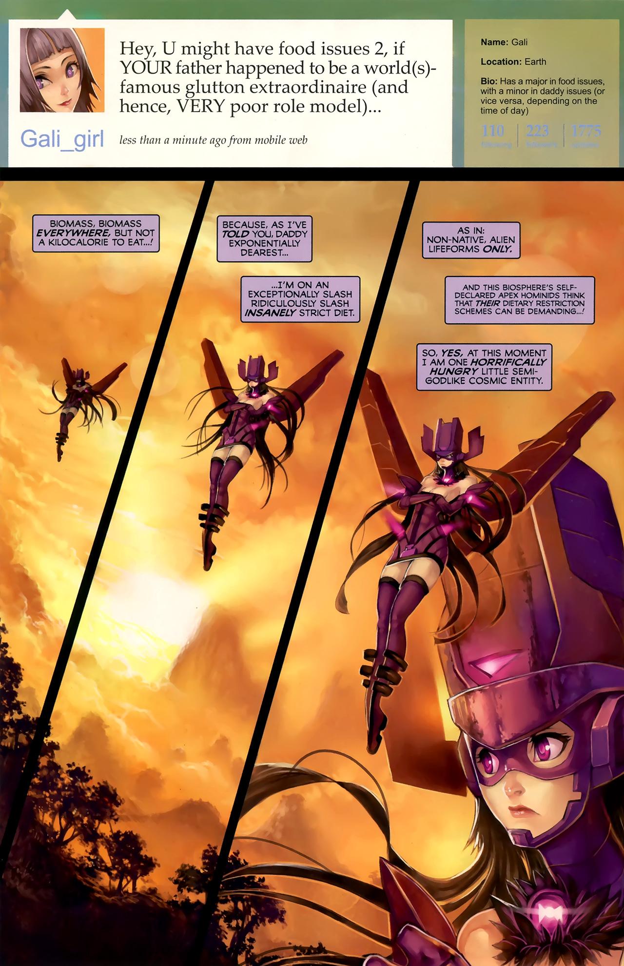 Read online Galacta: Daughter of Galactus comic -  Issue # Full - 11
