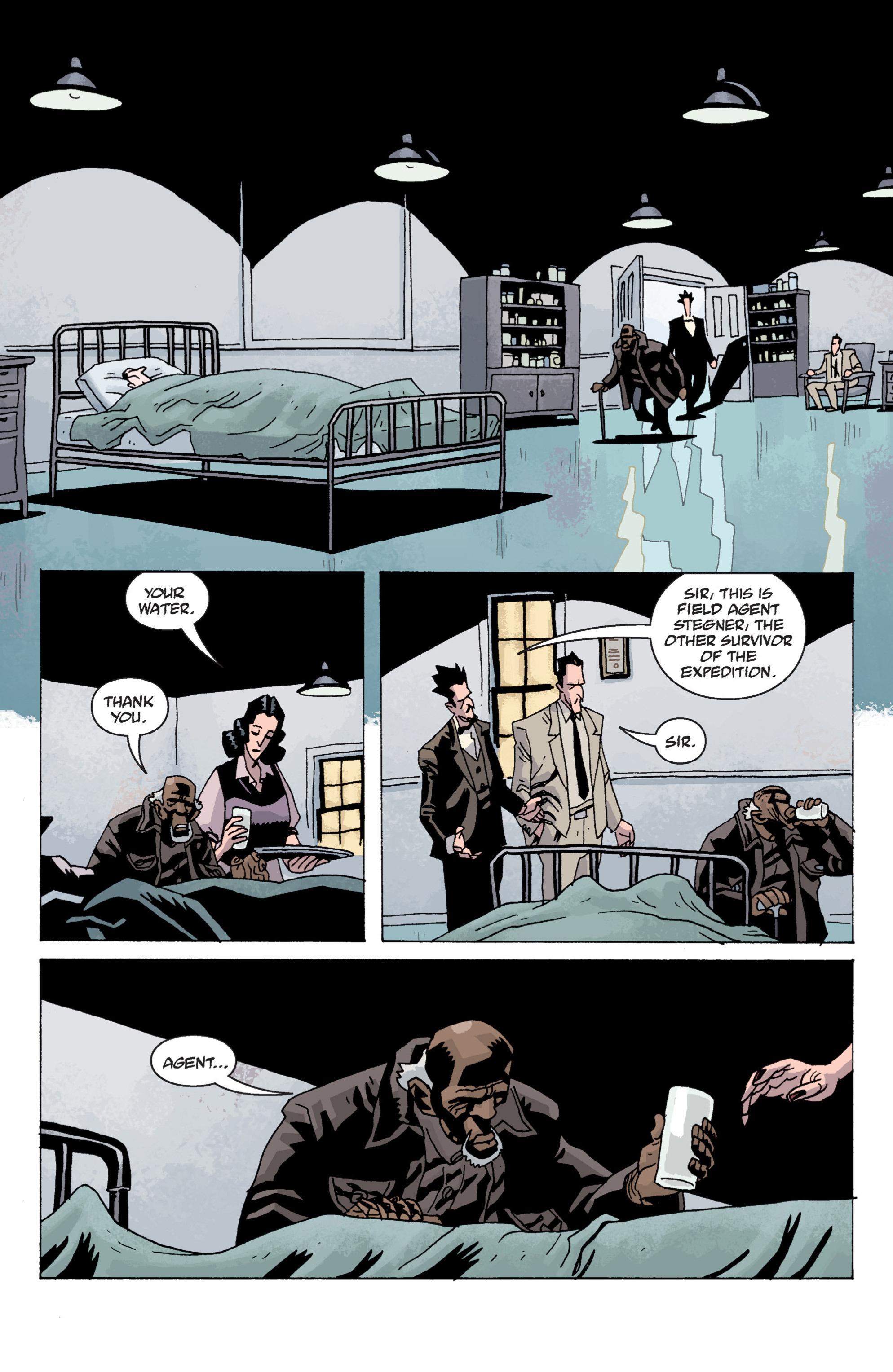Read online B.P.R.D. (2003) comic -  Issue # TPB 13 - 116
