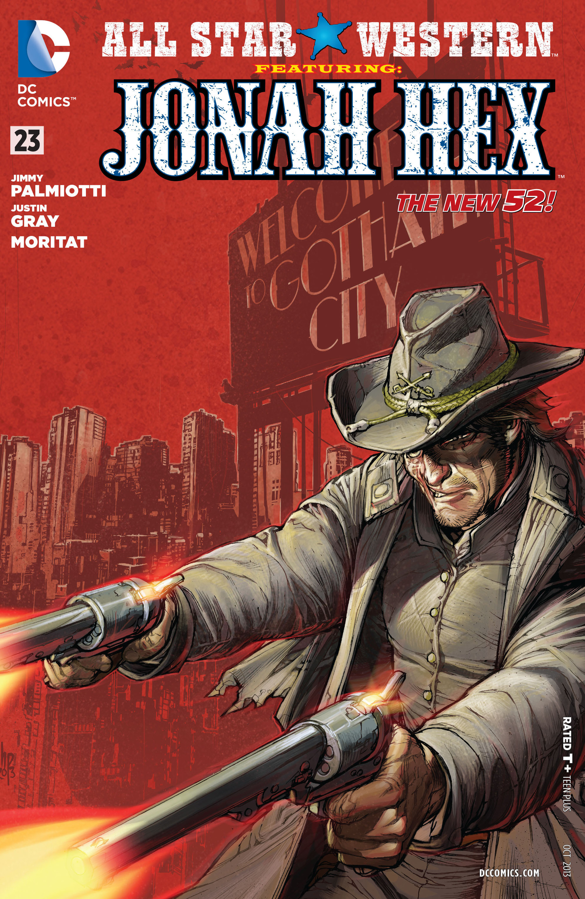 Read online All-Star Western (2011) comic -  Issue #23 - 1
