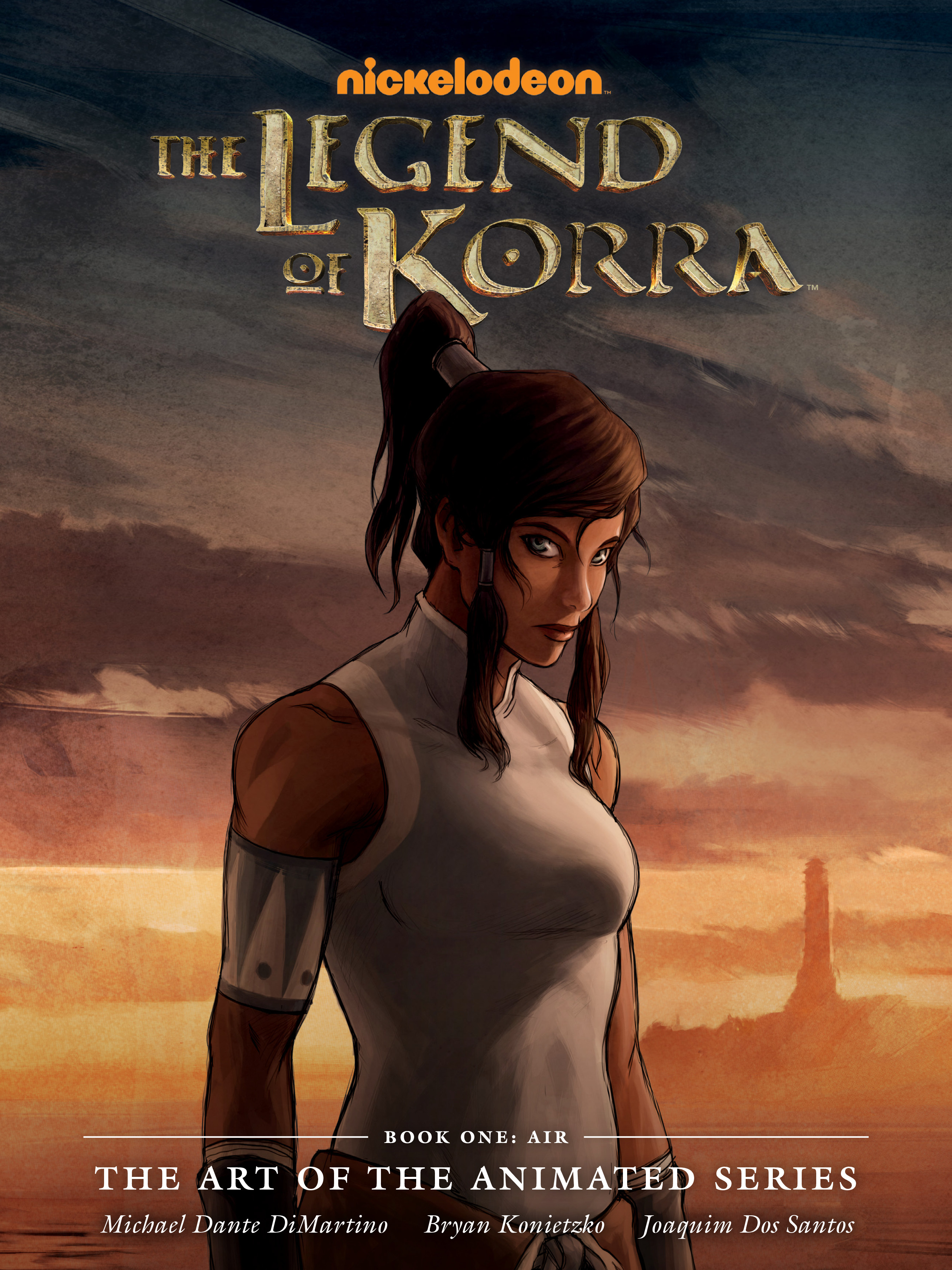 The Legend of Korra: The Art of the Animated Series TPB_1 Page 1