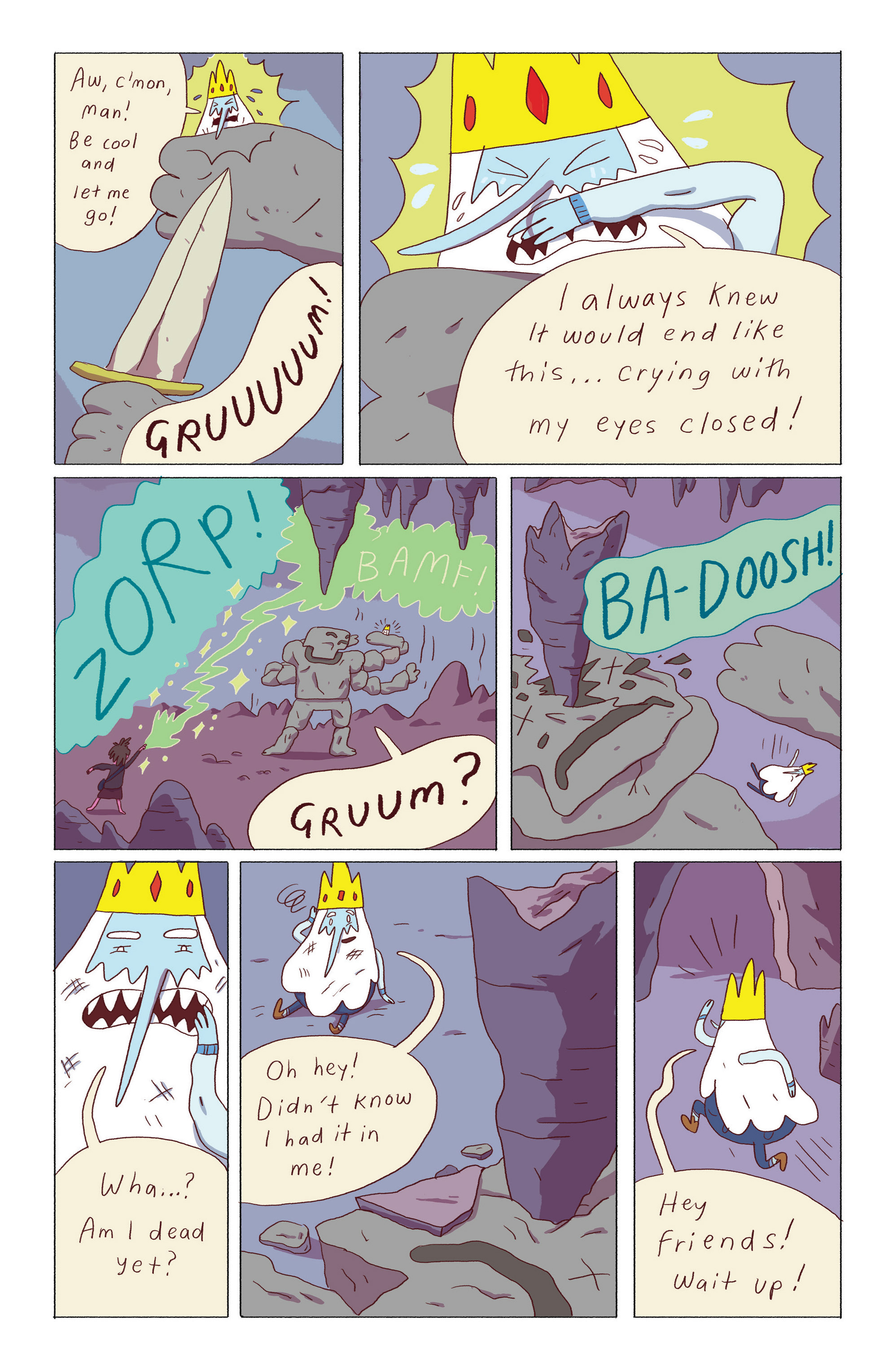 Read online Adventure Time: Ice King comic -  Issue #5 - 15