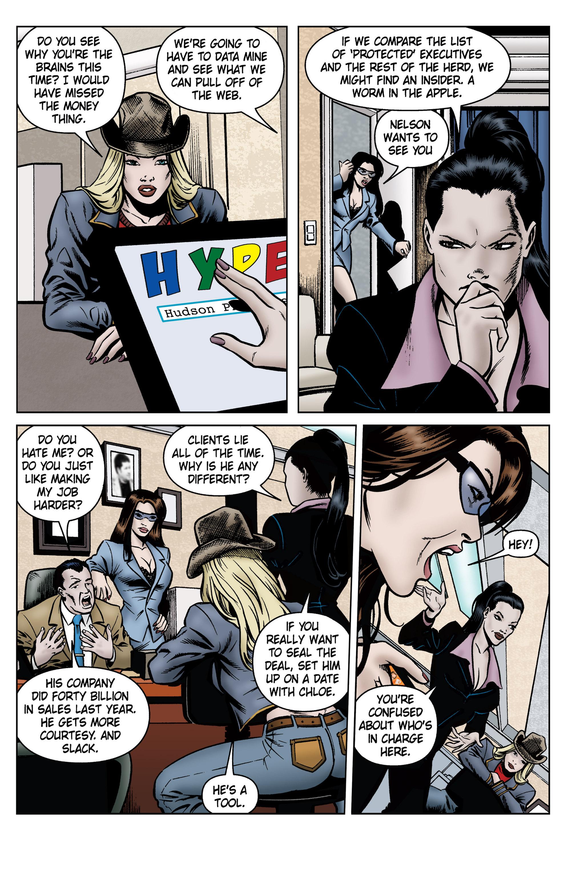 Read online SideChicks comic -  Issue #5 - 32