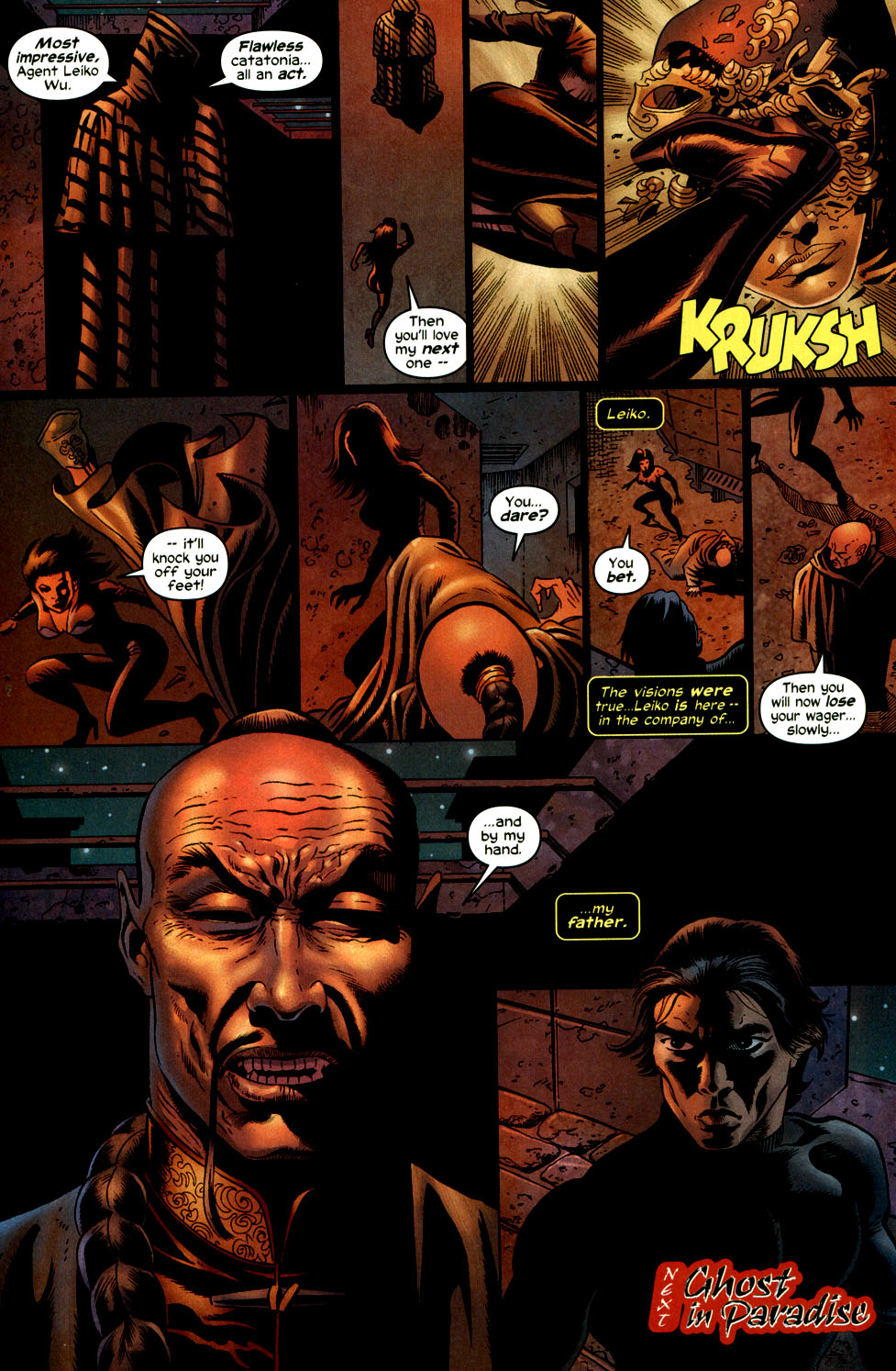 Read online Shang-Chi: Master of Kung Fu comic -  Issue #2 - 23