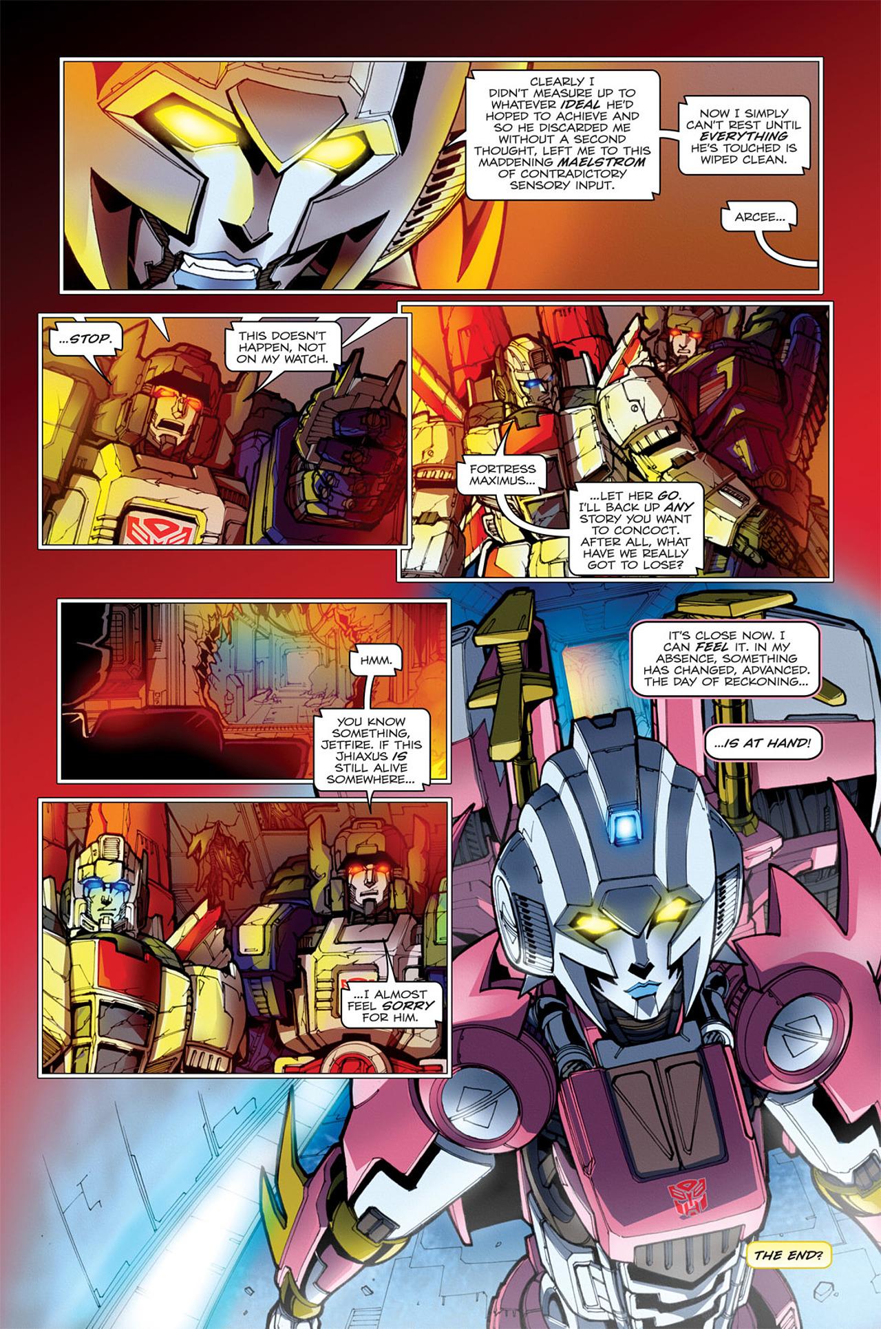 Read online Transformers: Spotlight - Arcee comic -  Issue # Full - 26