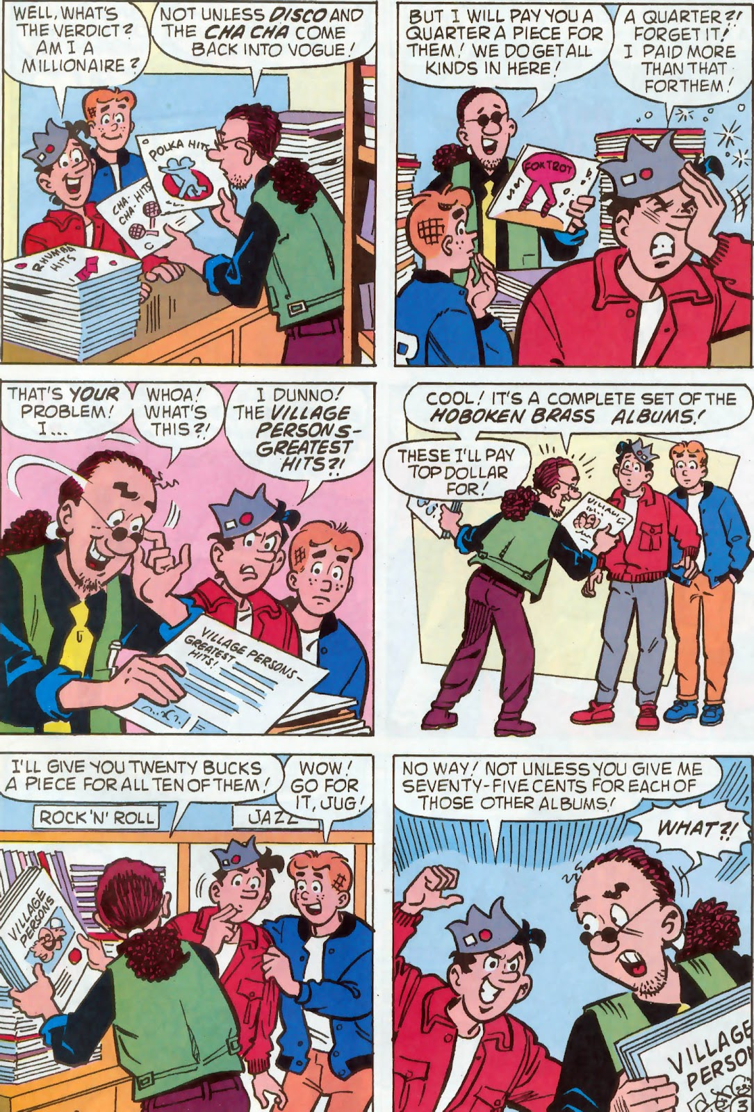Read online Archie's Pal Jughead Comics comic -  Issue #54 - 20