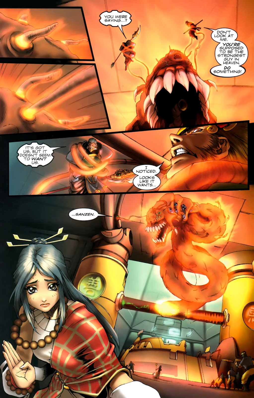 Read online Xin: Journey of the Monkey King comic -  Issue #1 - 13