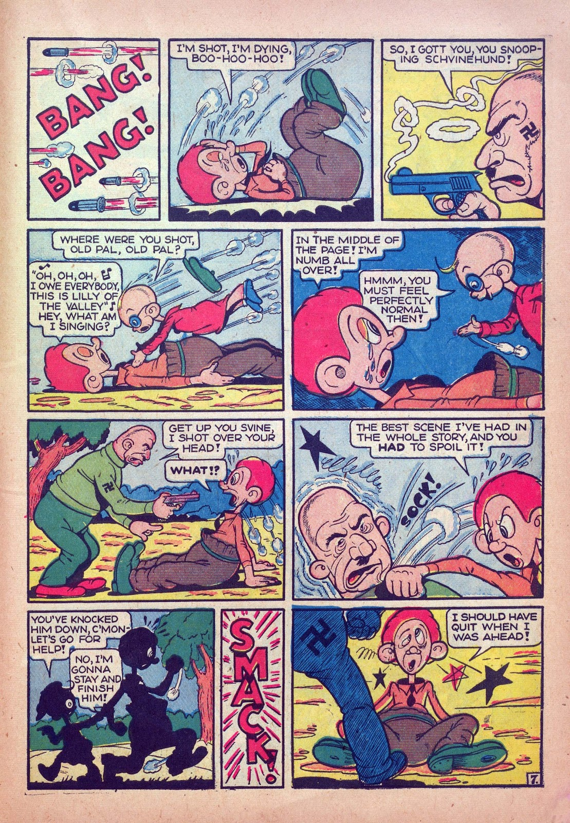 Read online Joker Comics comic -  Issue #12 - 55