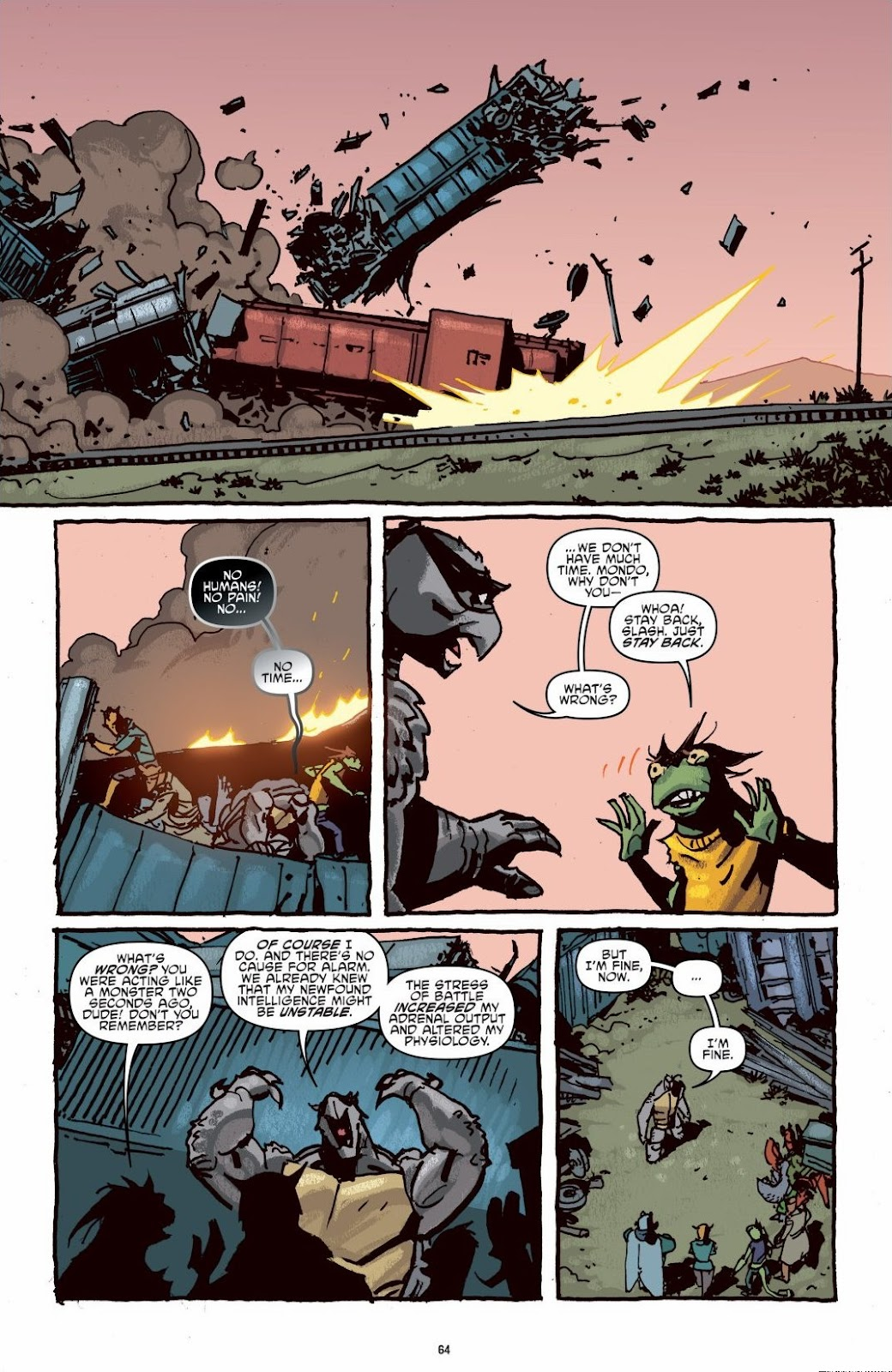 Read online Teenage Mutant Ninja Turtles: The IDW Collection comic -  Issue # TPB 6 (Part 1) - 63