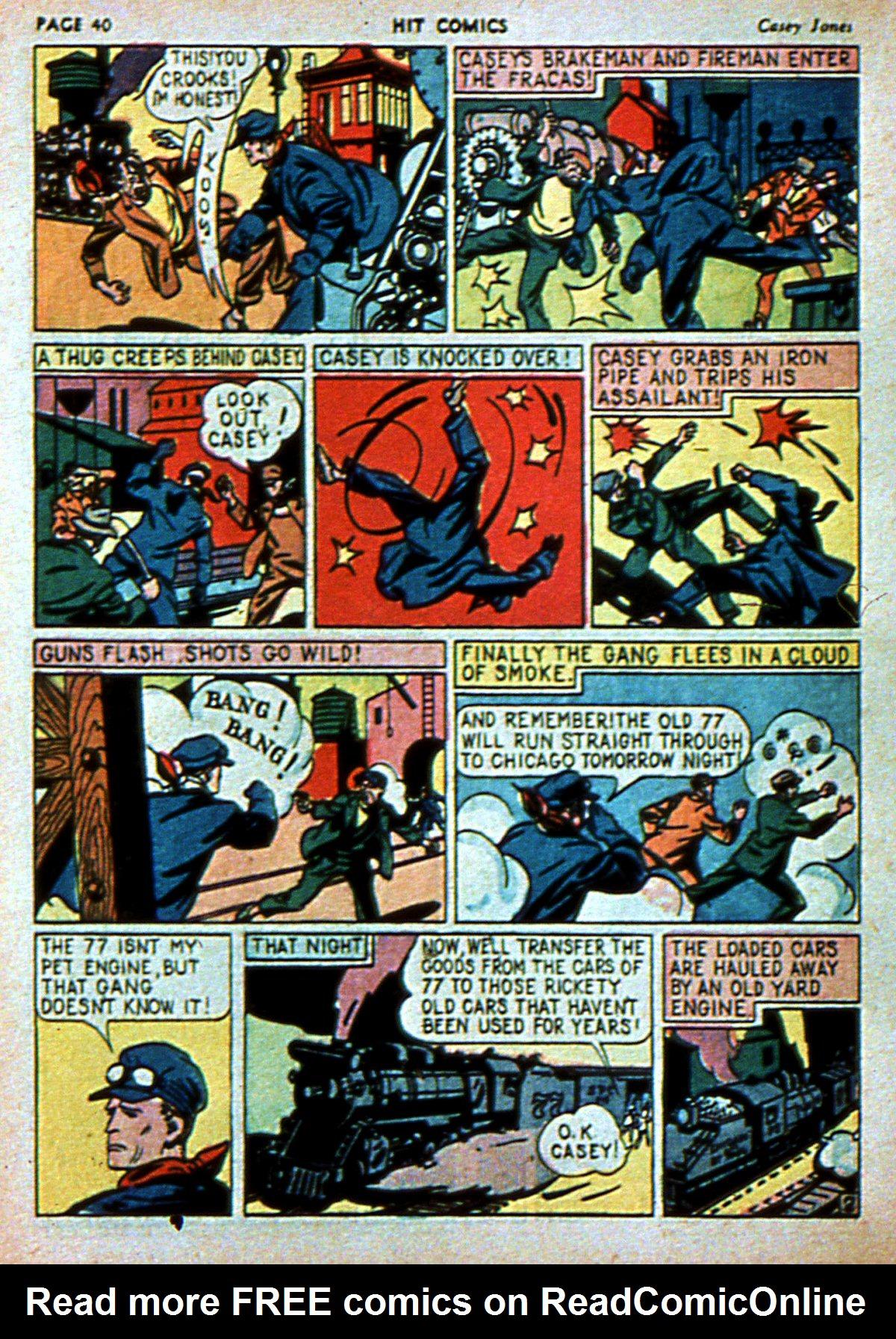 Read online Hit Comics comic -  Issue #3 - 42