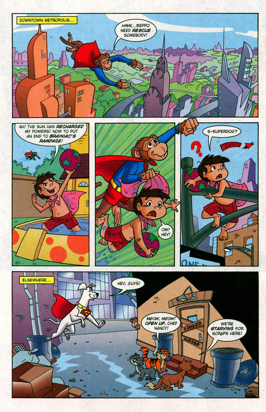 Read online Krypto the Superdog comic -  Issue #6 - 16