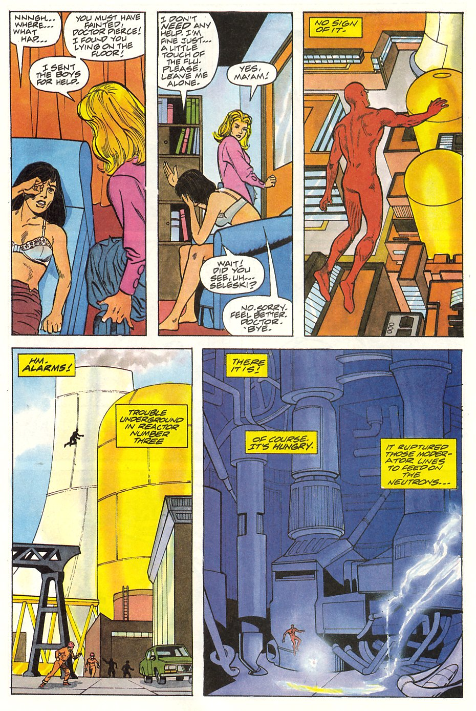 Read online Solar, Man of the Atom comic -  Issue #9 - 12