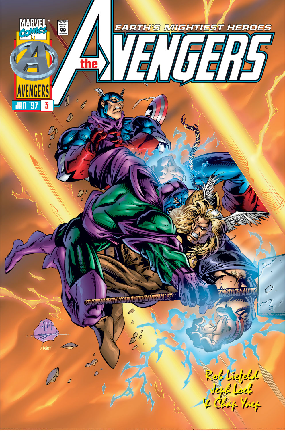Read online Avengers (1996) comic -  Issue #3 - 1