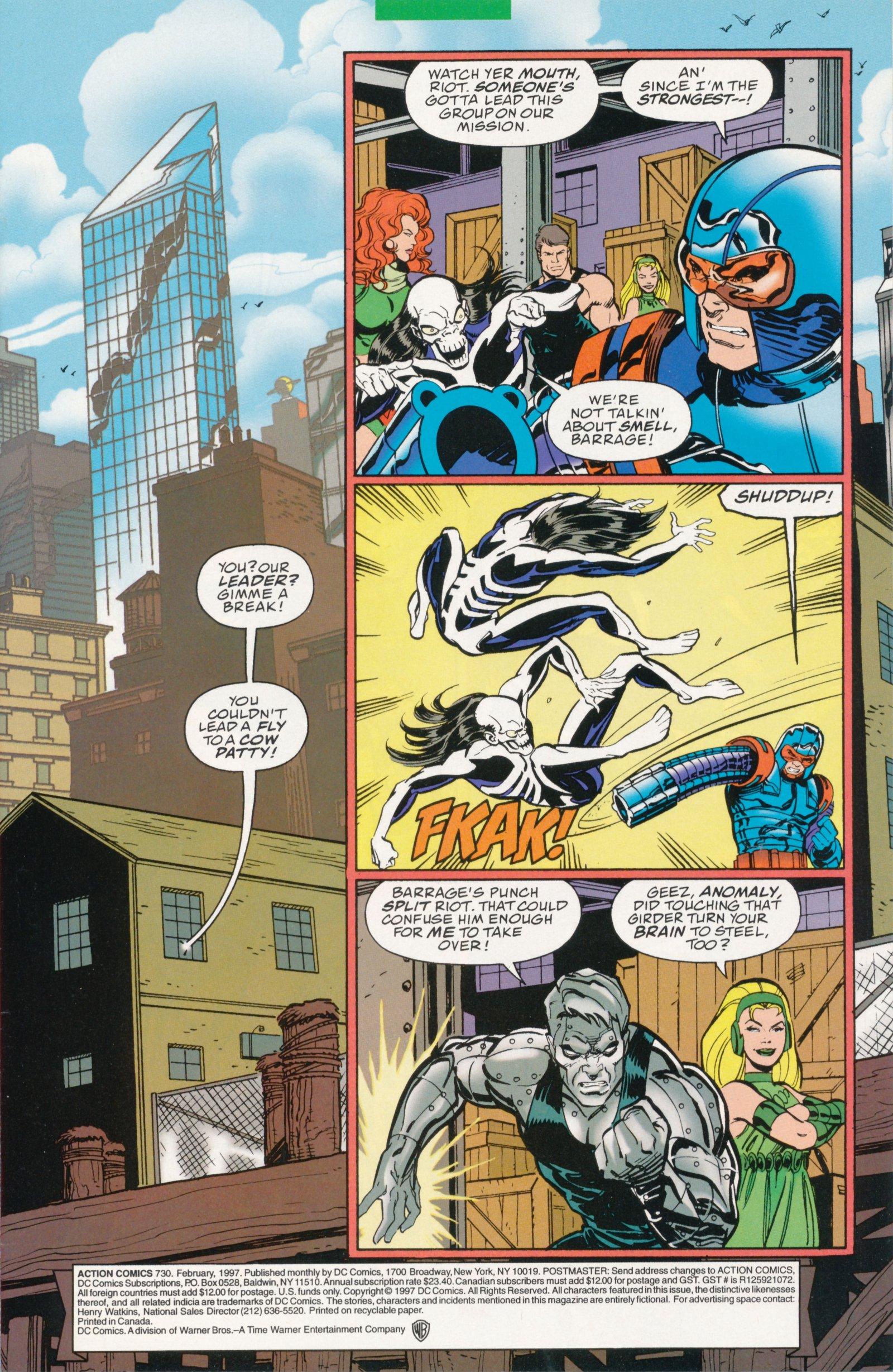 Action Comics (1938) 730 Page 2