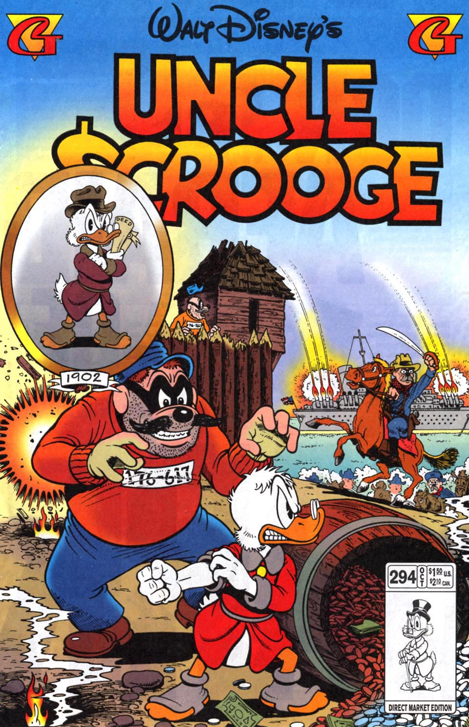 Read online Uncle Scrooge (1953) comic -  Issue #294 - 1