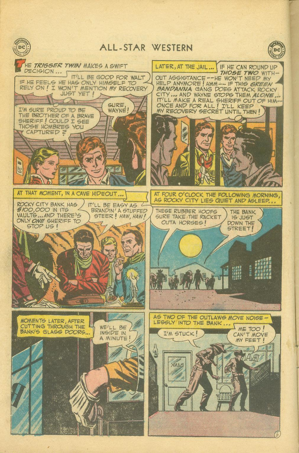 Read online All-Star Western (1951) comic -  Issue #65 - 8