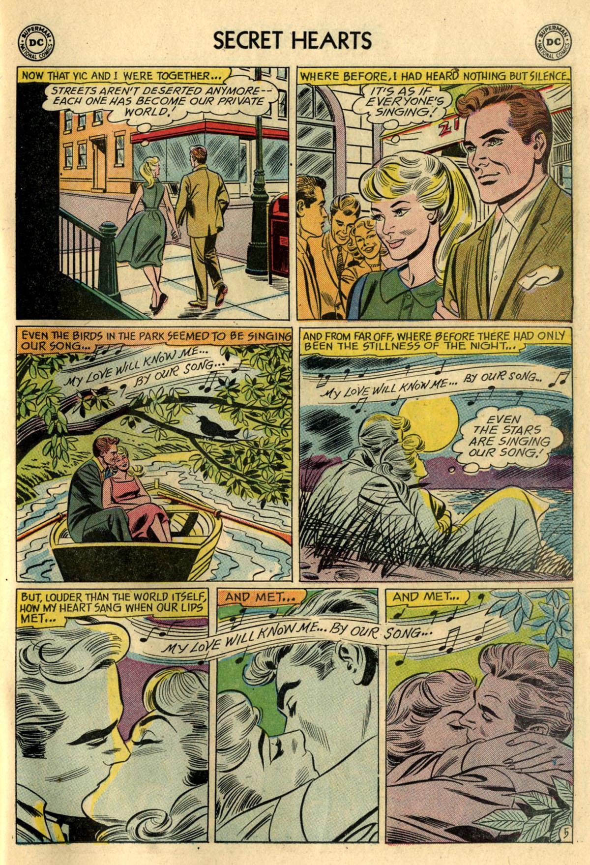 Read online Secret Hearts comic -  Issue #83 - 31