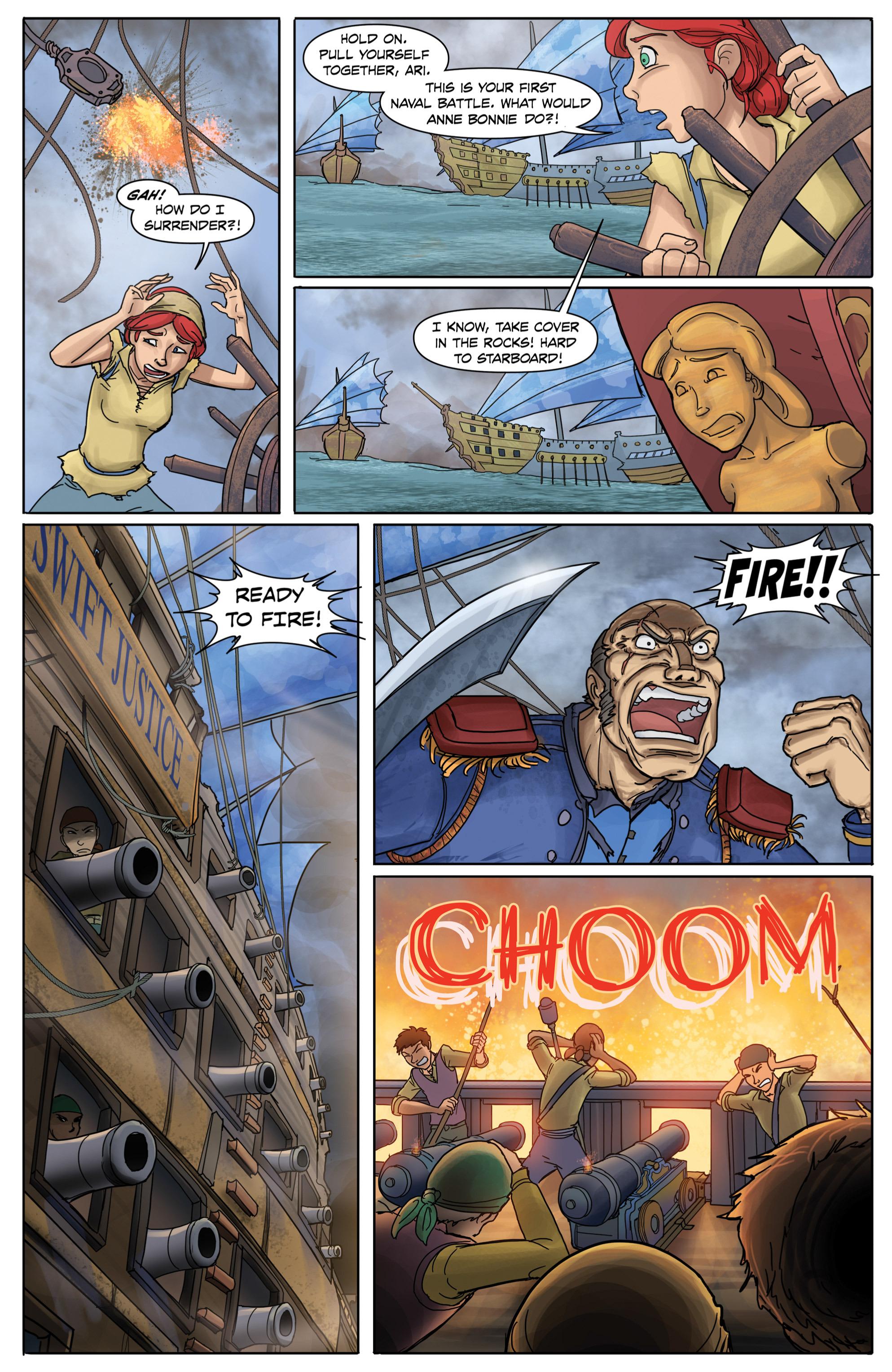 Read online Anne Bonnie comic -  Issue #2 - 6